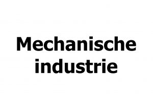 Mechanische industrie